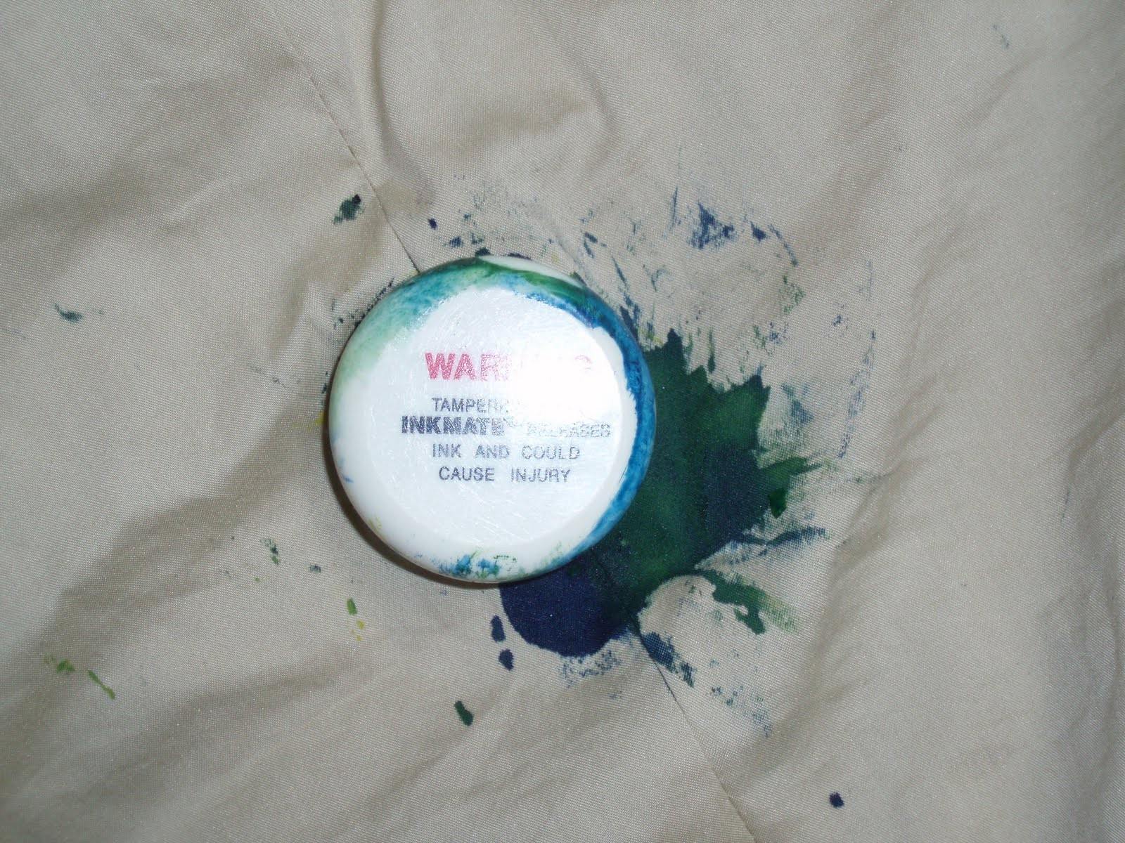 Removing clothing (ink) security tags (without ruining the